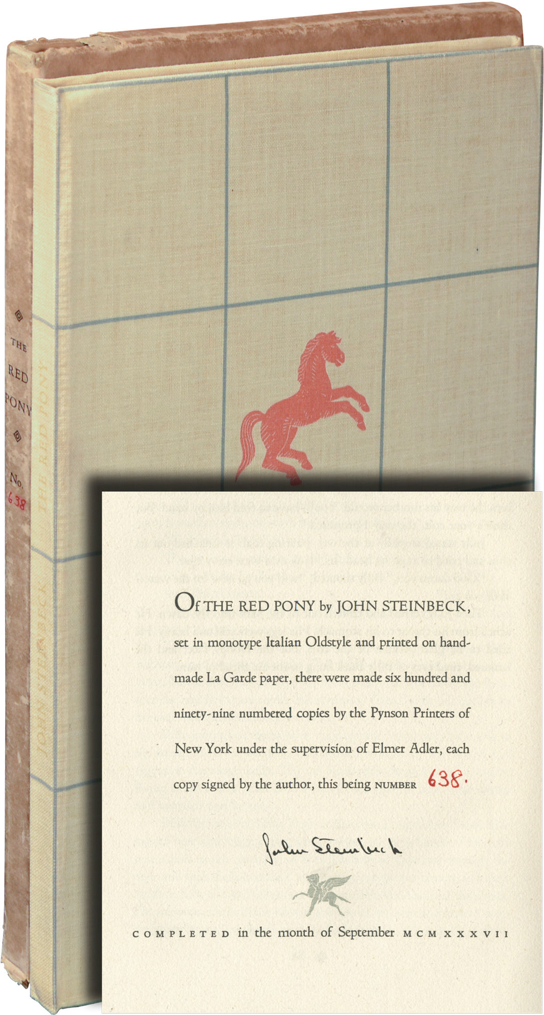 "a review of john steinbecks the red pony A teacher's guide to john steinbeck's the red pony 3 the third chapter, ""the promise,"" is the story of how jody gets a new horse."