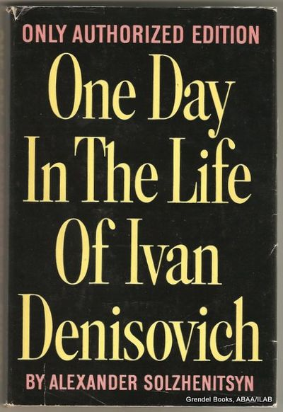 a book report on one day in the life of ivan denisovich a novel by aleksandr solzhenitsyn Get an answer for 'what quote in the book one day in the life of ivan denisovich supports the theme of friendship in the novel by aleksandr solzhenitsyn' and find homework help for other one day in the life of ivan denisovich questions at enotes.
