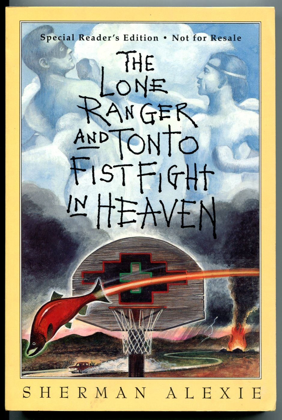 a literary analysis of the lone ranger and tonto fistfight in heaven by sherman alexie Two part series analyzing sherman alexie's short story collection tonto and the lone ranger fistfight in heaven this installment focuses on alexie's depiction of issues within contemporary reservation life.