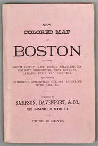 MAP OF BOSTON. 1883. PUBLISHED EXPRESSLY FOR THE BOSTON DIRECTORY