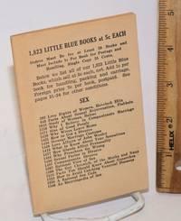 1,823 little blue books at 5c each