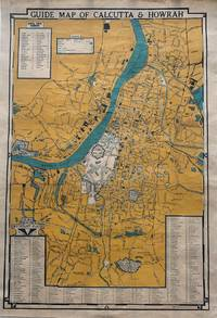 GUIDE MAP OF CALCUTTA AND HOWRAH