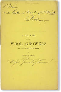 A Letter to the Wool Growers of the United States