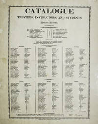 Catalogue of the Trustees, Instructors, and Students of Amherst Academy November, 1818
