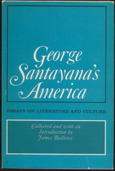 george santayana essays