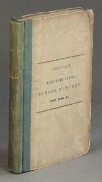 Abstract of the Massachusetts school returns, for 1840-41