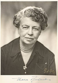 Eleanor Roosevelt Signed Photograph.