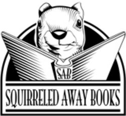 Squirreled Away Books bookstore logo