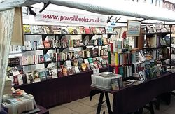 powellbooks of Ilminster Somerset uk. store photo
