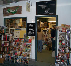 photo of bookworm bookstore