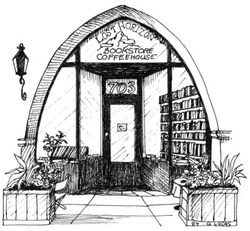 Lost Horizon Bookstore logo