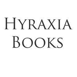 Hyraxia bookstore logo