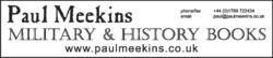 logo: Paul Meekins Military & History Books