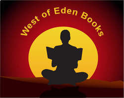 West of Eden Books bookstore logo