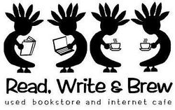 Read, Write & Brew logo