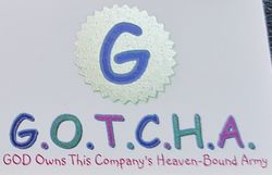 logo: GOD OWNS THIS COMPANY