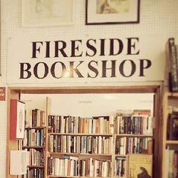Fireside Bookshop bookstore logo