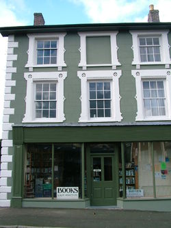 logo: Dyfi Valley Bookshop