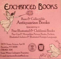 Enchanted Books, ABAA logo