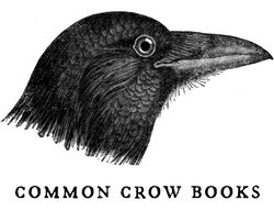 Common Crow Books bookstore logo