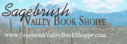 Sagebrush Valley Book Shoppe bookstore logo