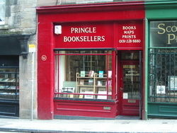 Pringle Booksellers ABA ILAB PBFA store photo