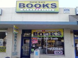 photo of David Kaye Books & Memorabilia