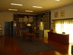 Antiquariaat De Keerkring store photo