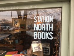Station North Books  logo