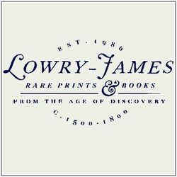 logo: Lowry-James Rare Prints & Books