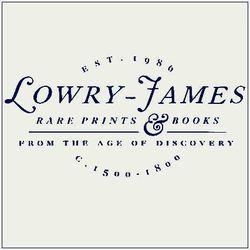 logo: Lowry-James Rare Prints & Books