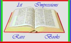 1st Impressions Rare Books logo