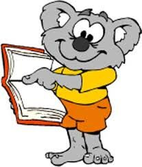logo: The Aussie Book Wombat