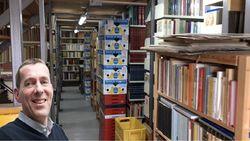 Boekhandel - Antiquariaat Emile Kerssemakers store photo