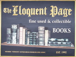 The Eloquent Page bookstore logo
