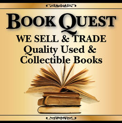 Book Quest bookstore logo