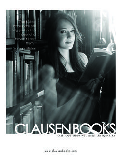 Clausen Books, RMABA store photo
