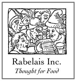 Rabelais - Fine Books on Food & Drink bookstore logo