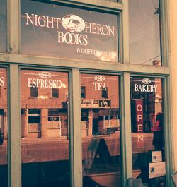 Night Heron Books store photo