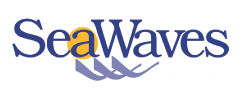 SeaWaves Press bookstore logo