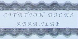 Citation Books, ABAA/ ILAB logo