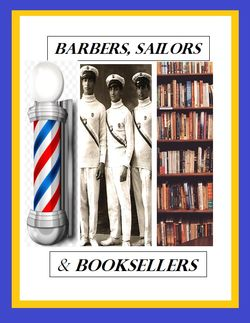 Barbers Sailors and Booksellers logo