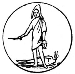 logo: D. Anthem, Bookseller