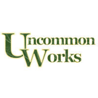 Uncommon Works, IOBA bookstore logo