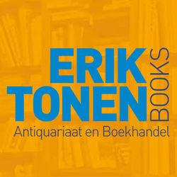 ERIK TONEN BOOKSELLER bookstore logo