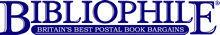 Bibliophile Ltd logo
