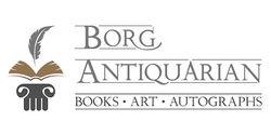 logo: Borg Antiquarian