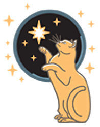 logo: Star Cat Books