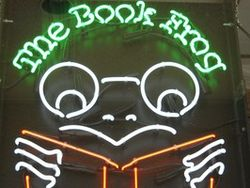 The Book Frog logo