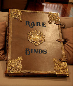 Rare Binds Bookstore Logo